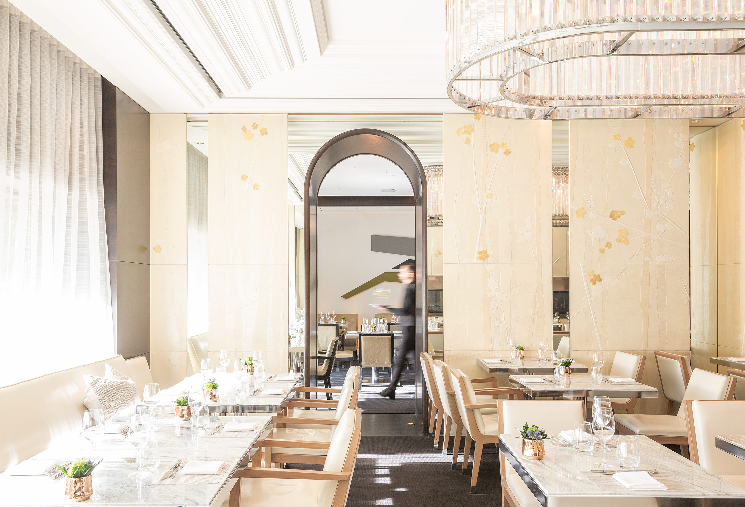 Interior of  Hawksworth by architectural photographer Kristopher Grunert
