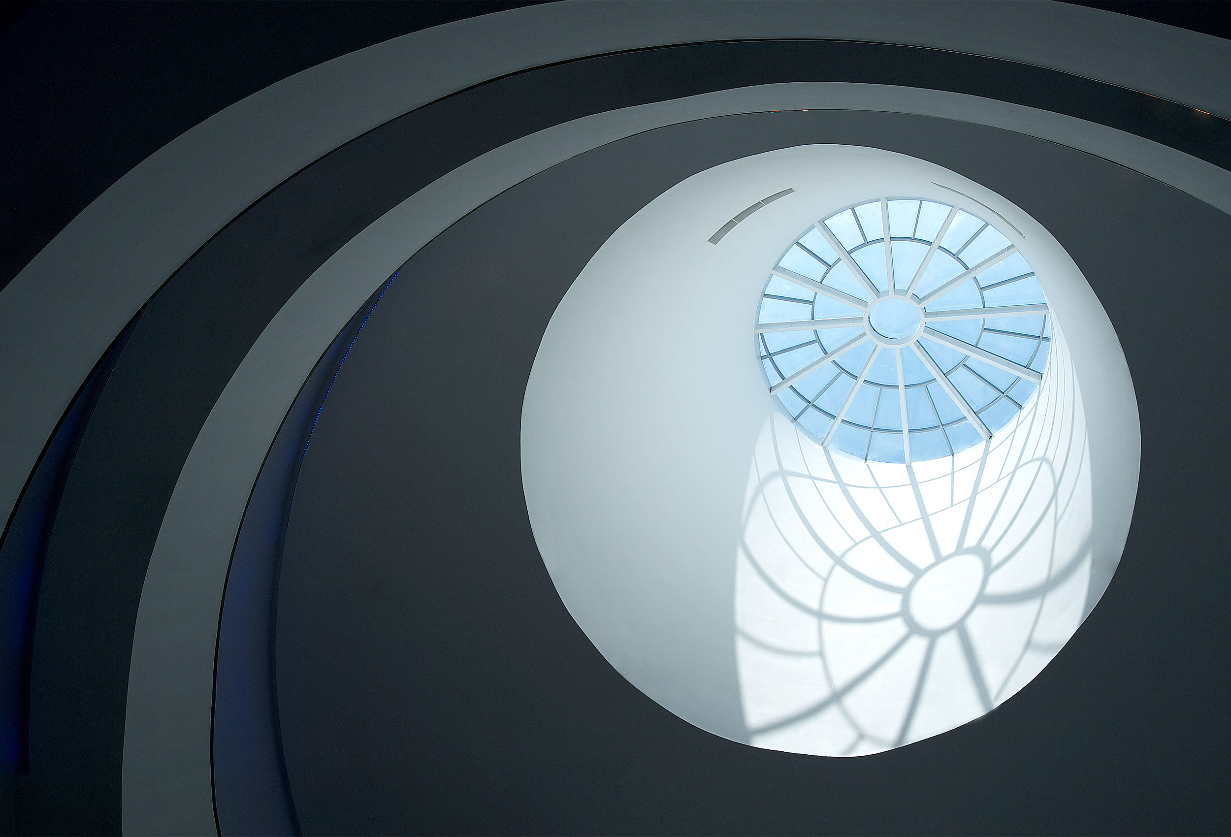 Macau Science Centre skylight by architectural photographer Kristopher Grunert