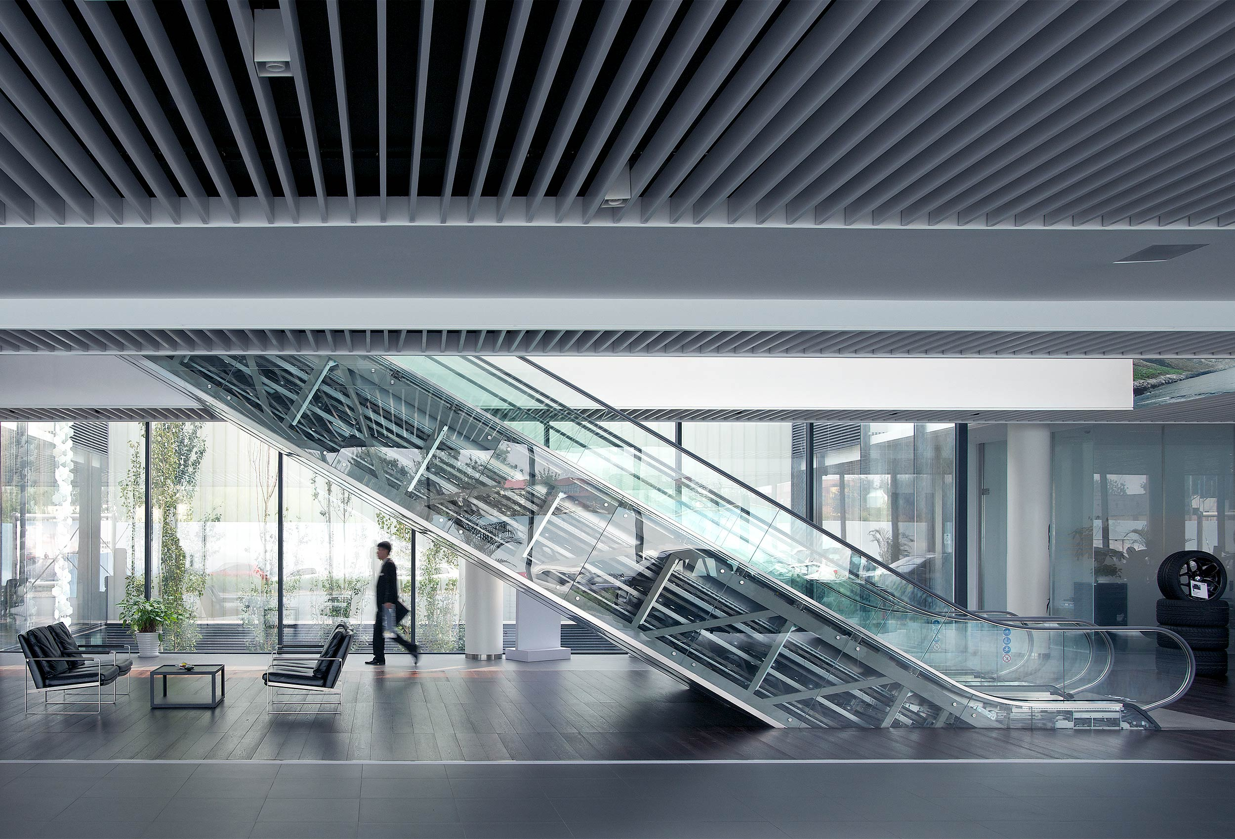 BMW HQ by architectural photographer Kristopher Grunert