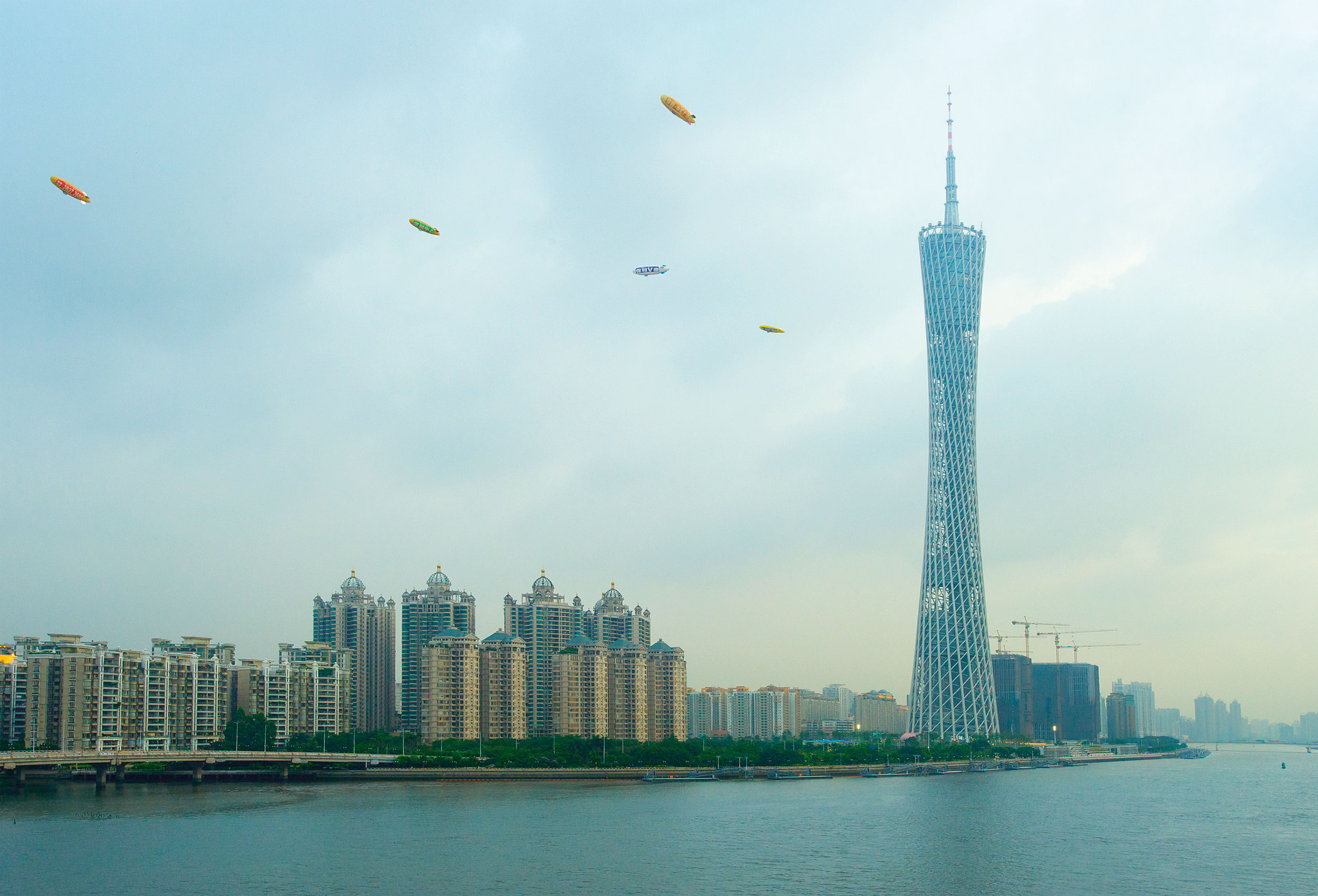 Canton Tower by architectural cityscape photographer Kristopher Grunert